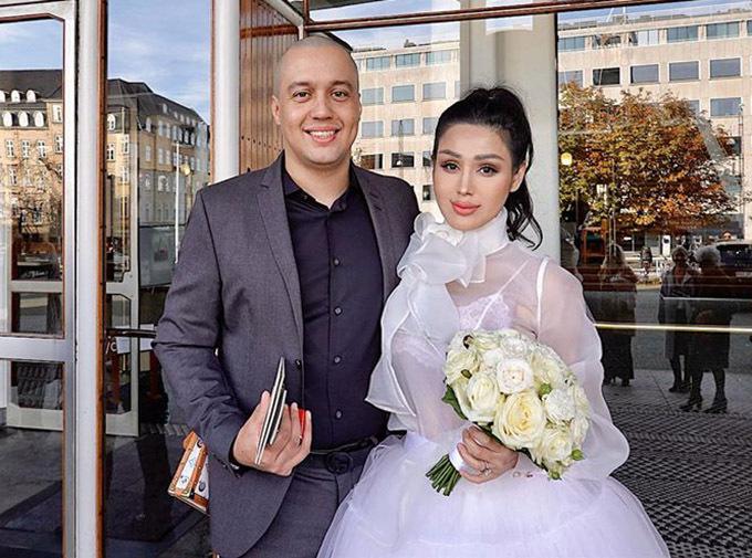 Maria Đinh Phương Ánh lấy chồng Tây kém tuổi