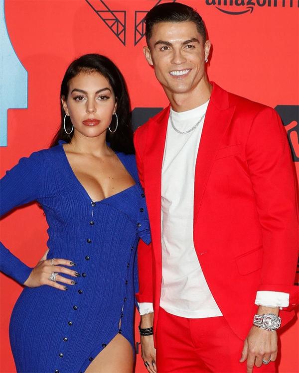 C. Ronaldo và Georgina Rodriguez khi đi dự một sự kiện. Ảnh: Instagram.