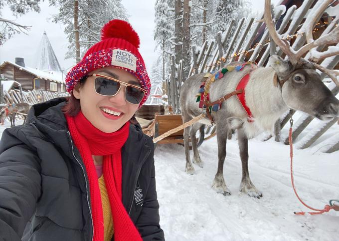 [Caption]nơi thường xuống -10 đến - 40 độ vào mùa đông, để khám phá xứ sở tuyết trắng, bầu trời và cái lạnh này.