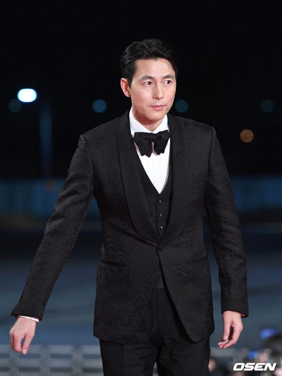 Nam diễn viên Jung Woo Sung.