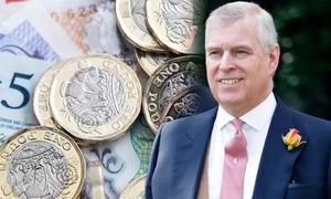 Tài sản 32 triệu bảng của Hoàng tử Andrew