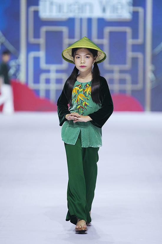 HHen Niê diễn thời trang cùng mẫu nhí - 5