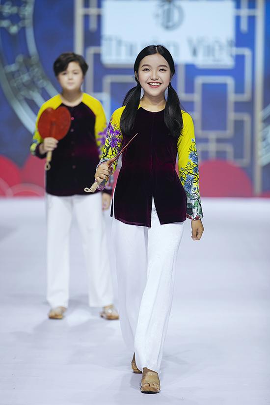 HHen Niê diễn thời trang cùng mẫu nhí - 6