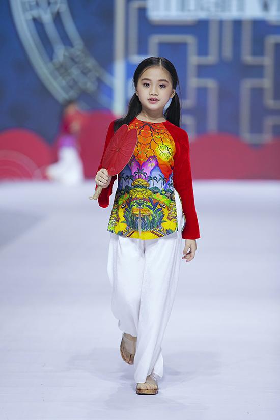 HHen Niê diễn thời trang cùng mẫu nhí - 8