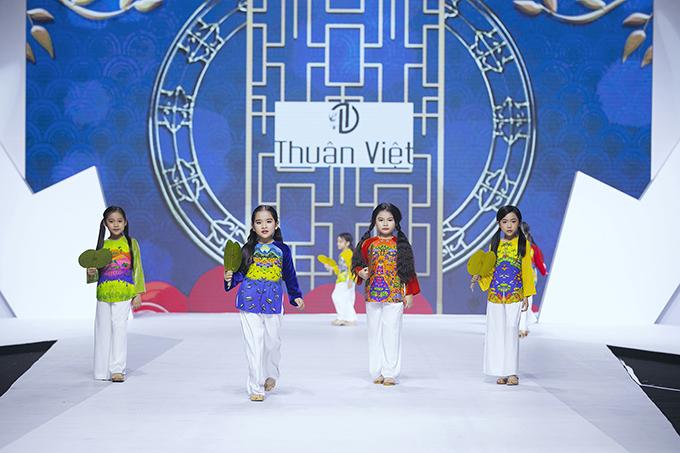 HHen Niê diễn thời trang cùng mẫu nhí - 3