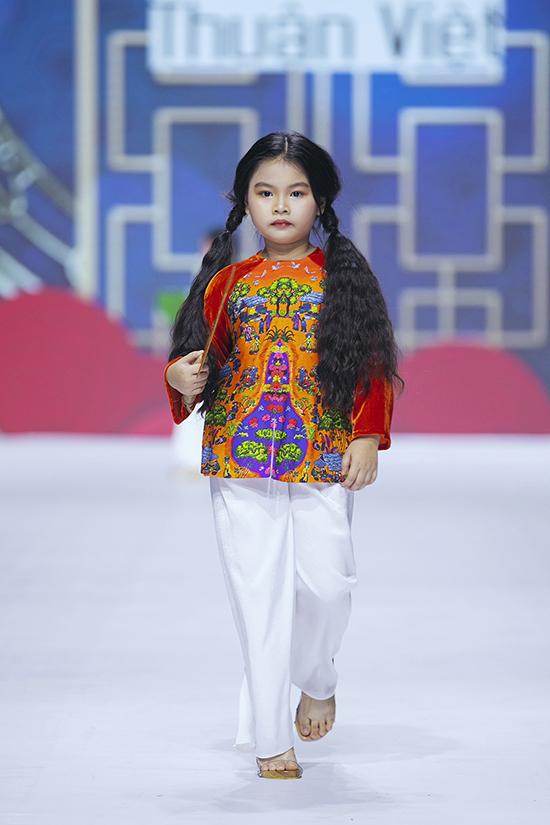 HHen Niê diễn thời trang cùng mẫu nhí - 9