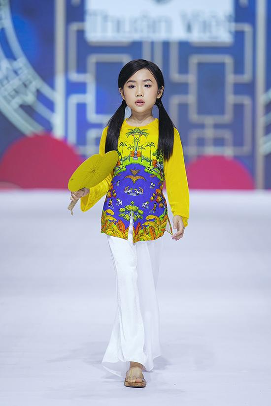 HHen Niê diễn thời trang cùng mẫu nhí - 10