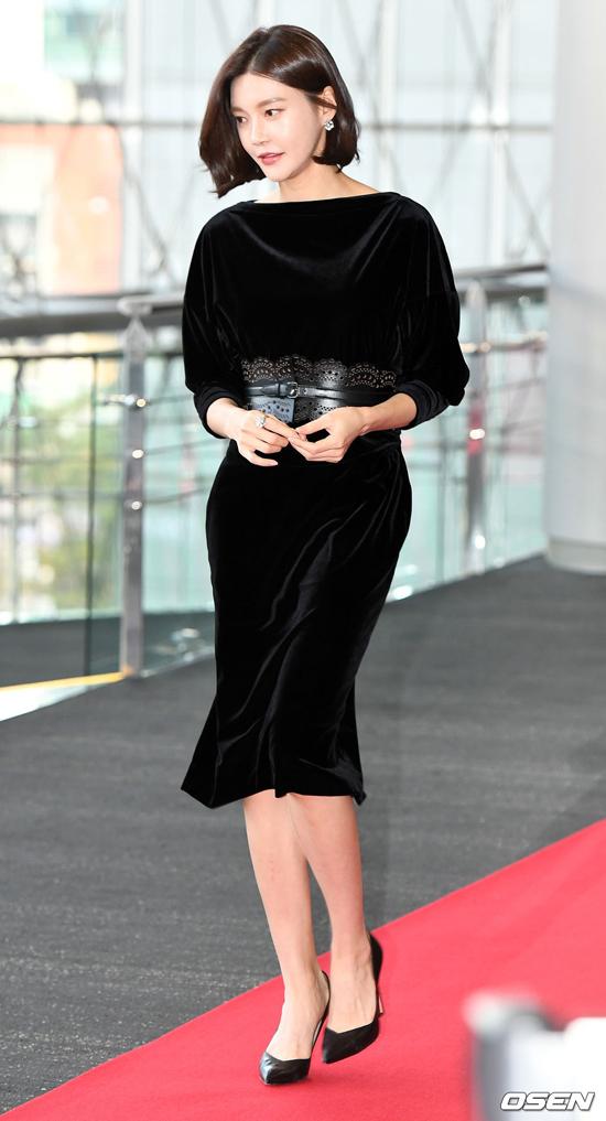 Dự sự kiện chiều 25/11 là nhiều gương mặt quen thuộc của showbiz như diễn viên Cha Ye Ryun.