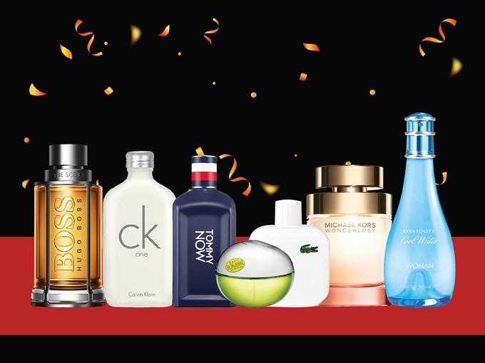 Từ ngày 22/11 đến 2/12, tại khu vực sự kiện tầng 3 giảm đến 50% các thương hiệu nước hoa, mỹ phẩm như: Sisley, Estee Lauder, Bobbi Brown, Givenchy, Clarins, Clinique, Loccitane, Origani, Dr. Fart, Beauty Buffet, Evoluderm, Yves Rocher, Revlon, Flormar, Organique, Loreal, Maybelline, Fasio, Aio Tokyo, Himalaya Bvlgari, Carolina, Calvin Klein, Dolce & Gabbana, Dkny, Elie Saab, Jean Paul, Kenzo, Lanvin, Marc Jacobs, Michael Kors, Salvatore Ferragamo, Versace...
