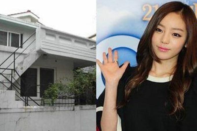 Năm 2012, khi mới 21 tuổi, Goo Hara sắm ngôi nhà đầu tiên ở khu vực Chungdamdong với giá 1 triệu USD. Ba năm sau, ngôi nhà 3 tầng nàyđược nữ ca sĩbán lại với giá gần 2 triệu USD. Ảnh: Kpopstar.
