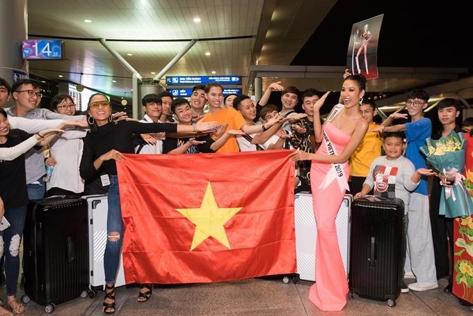 Miss Universe 2019 thu hút khoảng 90 thí sinh dự thi. Chung kết diễn ra vàosáng 9/12 (giờ Hà Nội).