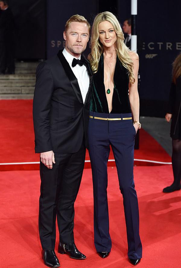Ronan Keating và vợ thứ hai, Storm.