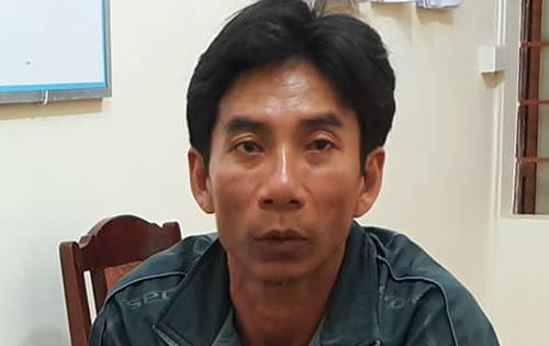 Châu bị bắt giữ sau hơn tháng gây án. Ảnh: Hoàng Trường