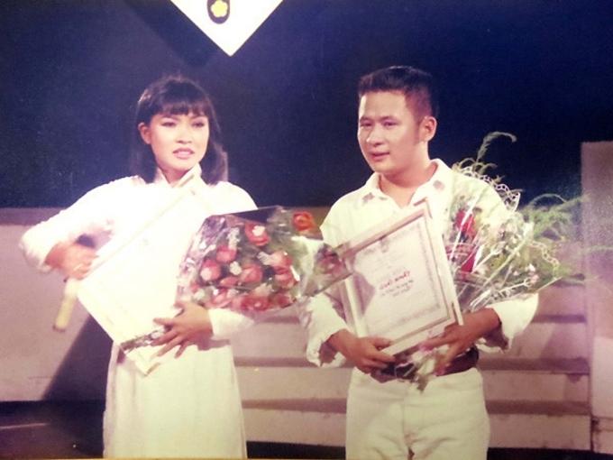 Phương Thanh và Bằng Kiều thời mới nổi tiếng.