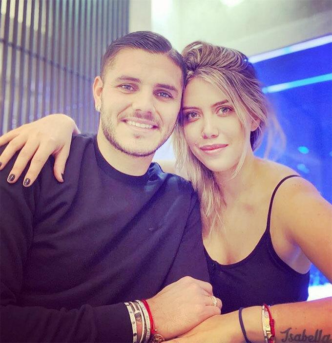 Vợ chồng Mauro Icardi