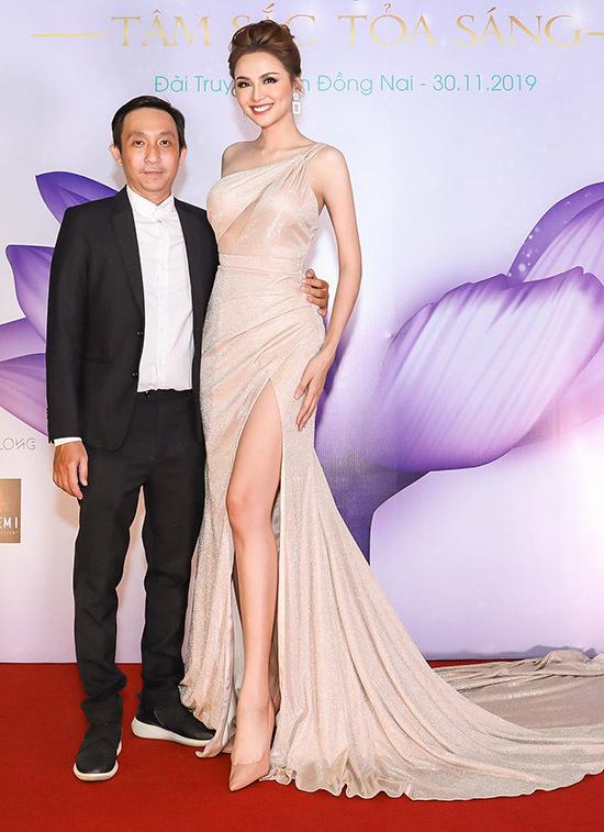 Cô được nhà thiết kế Nguyễn Hà Nhật Huy - trưởng ban tổ chức cuộc thi Hoa khôi du lịch Đồng Nai - mời làm giám khảo sân chơi này.