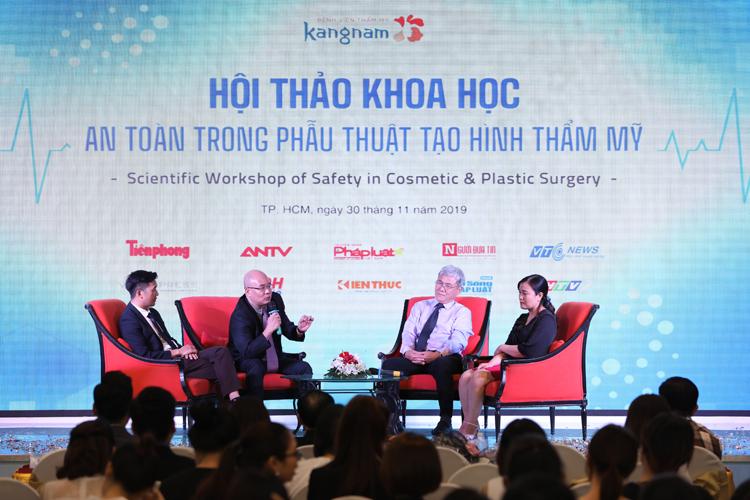 Hội thảo có sự tham gia của đại diện Bộ Y tế, cùng các chuyên gia trong lĩnh vực gây mê hồi sức, phẫu thuật tạo hình và hơn 100 y bác sĩ trên toàn quốc.