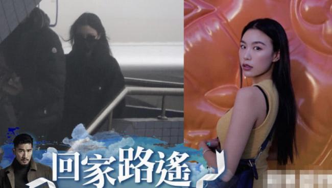 Bella, vợ sắp cưới của Cao Dĩ Tường đưa thi thể anh về Đài Loan.