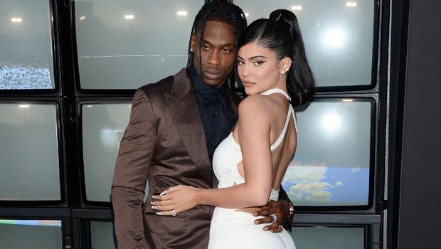 Kylie và Travis Scott.