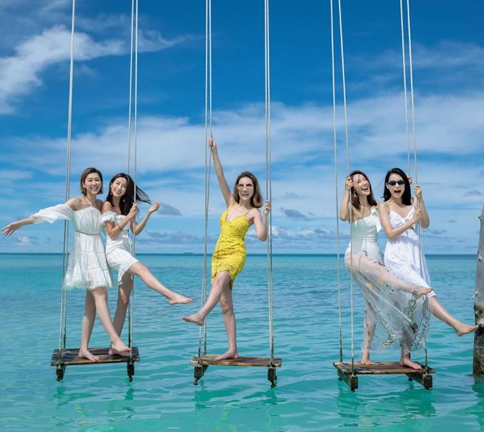 Hội chị em TVB chọn resort cao cấp ở Maldives - 9