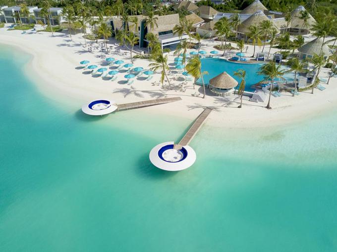 Hội chị em TVB chọn resort cao cấp ở Maldives - 11