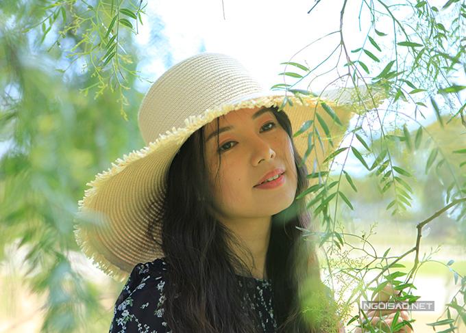 Ca sĩ Diễm Quyên hiện tại. Cô sống cùng chồng con ở Australia.
