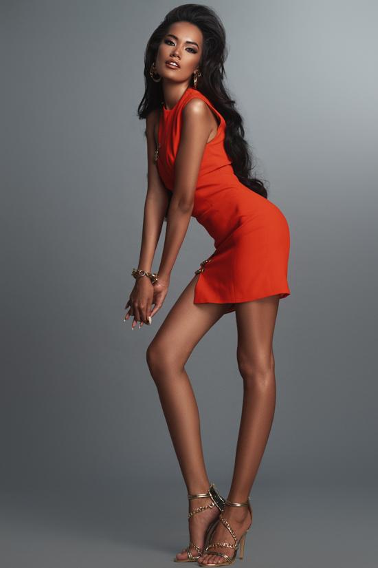 Ứng viên hoa hậu hoàn vũ tạo dáng chuyên nghiệp - 5