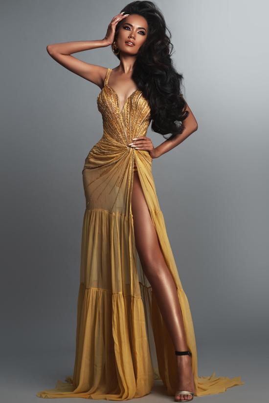 Ứng viên hoa hậu hoàn vũ tạo dáng chuyên nghiệp - 1