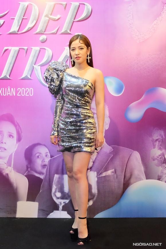Diễn viên - MC Puka đảm nhận vai diễn gây cản trở cho nhân vật Dương của Hương Giang.