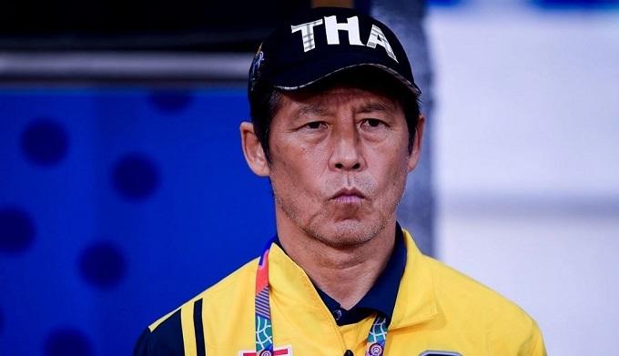 HLV Nishino và Thái Lan có nguy cơ bị loại sớm ở SEA Games.