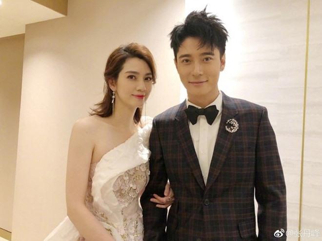 Hồng Hân và chồng - Trương Đan Phong.