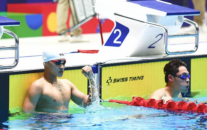 Ở cự ly 100m ếch nam, Việt Nam bất ngờ có tấm HC bạc sau khi kình ngư Phạm Thành Bảo