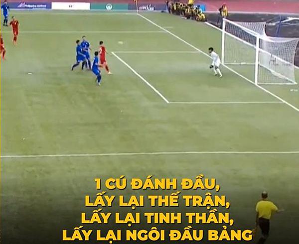 Bàn thắng củaTiến Linh ở phút 15 của trận đấu giúp rút ngắn khoảng cách cho tuyển U22 Việt Nam và lấy lại niềm hy vọng cho người hâm mộ.