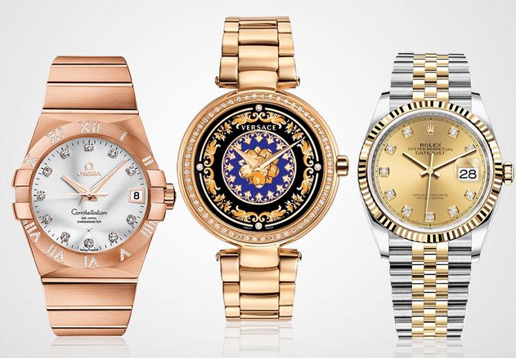 Mỗi năm trên thế giới có gần 500.000 chiếc đồng hồ vàng khối được sản xuất. 90% số đó là đồng hồ Thụy Sỹ. Nhiều hãng đồng hồ lớn đã tự sản xuất vàng như Rolex, Hublot, Chopard hay OMEGA... với hợp kim vàng sở hữu sắc tố hồng cam đẹp mắt. Năm 2020 được dự đoán là thời đại lên ngôi của hai tone màu vàng hồng và cam đào. Với các phiên bản đồng hồ bằng vàng khối hoặc vàng độc quyền sẽ có giá từ 120 triệu đến 865 triệu đồng.