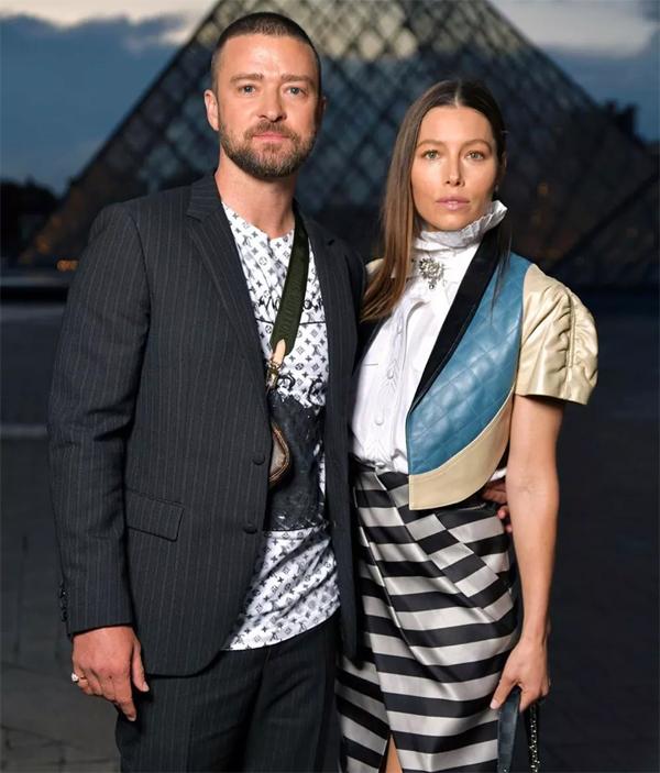 Justin Timberlake và Jessica Biel.