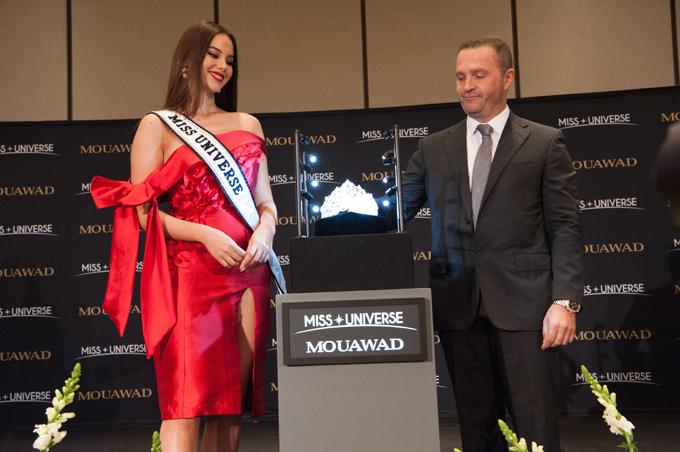 Ông Pascal Mouawad - giám đốc điều hành của công ty Mouawad - phát biểu: Đây không chỉ là chiếc vương miện phù hợp với một nữ hoàng sắc đẹp mà còn mang thông điệp mạnh mẽ về sự đoàn kết của phụ nữ trên khắp thế giới vì những mục đích cao đẹp.