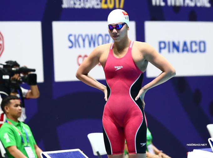 Ngày buồn của Ánh Viên ở SEA Games 30