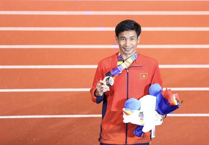 Nguyễn Văn Lai vẫn không thể đổi màu huy chương nội dung chạy 10.000 mét, so với Đại hội trước. Chân chạy 33 tuổi đạt thành tích 30 phút 29,73 giây, tốt hơn thành tích giúp anh đoạt HC bạc năm 2017. HC vàng nội dung này thuộc về Tuntivate Kieran của Thái Lan với 30 phút 19,28 giây.
