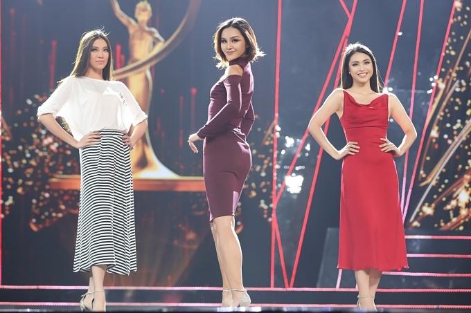Chồng Tây tháp tùng Thu Minh tập chung kết Hoa hậu Hoàn vũ VN - 9