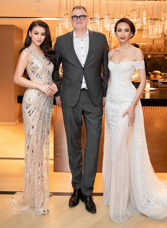 Phương Khánh, Ngọc Diễm đua vẻ quyến rũ trước ống kính.
