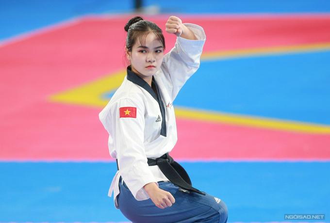 Hot girl taekwondo giành HC đồng SEA Games