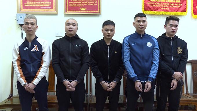 Đường dây cá độ bóng đá cho vay nặng lãi ở Bắc Ninh bị triệt phá