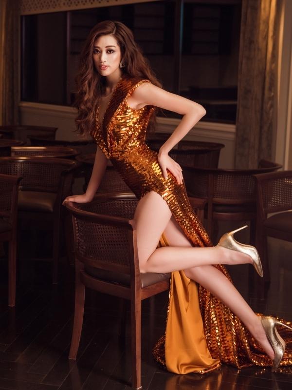 Hành trình Khánh Vân đăng quang Hoa hậu Hoàn vũ Việt Nam 2019 - 9
