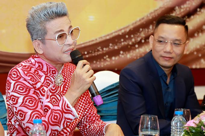 Thanh Bạch phát biểu về Lý Nhã Kỳ tại buổi họp báo giới thiệu chương trình Xuân Phát Tài 10.