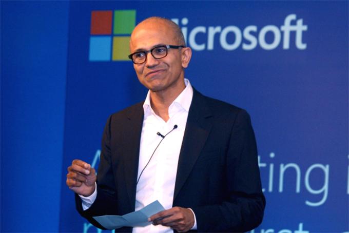Satya Nadella, CEO của Microsofl. Ảnh: BI.