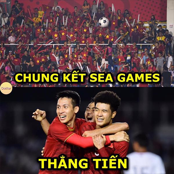 Kết thúc 90 phút thi đấu,U22 Việt Nam chính thức tiến vào chung kết và đối đầu U22 Indonesia.