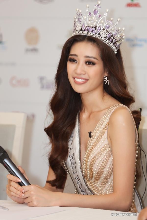 Tân hoa hậu Khánh Vân áp lực trước thành công của HHen Niê