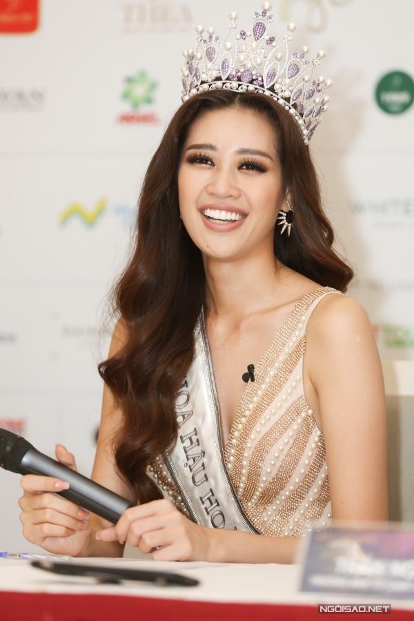 Tân hoa hậu Khánh Vân áp lực trước thành công của HHen Niê - 1