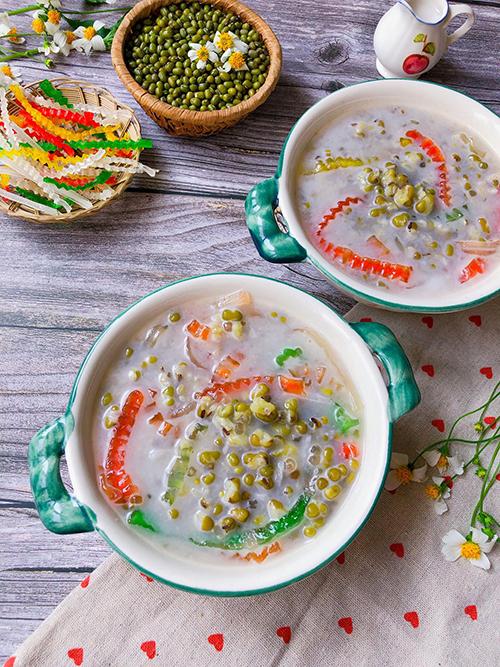 Chè đậu xanh cốt dừa