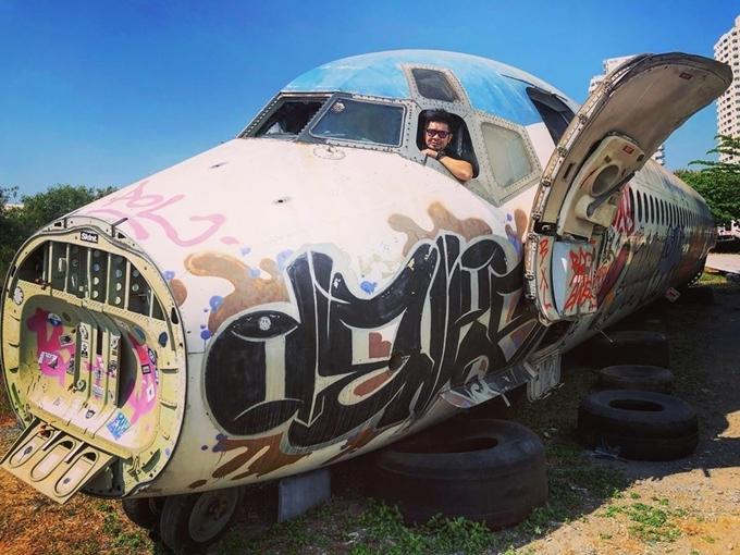 Sống ảo ở nghĩa trang máy bay ngay Bangkok - 6